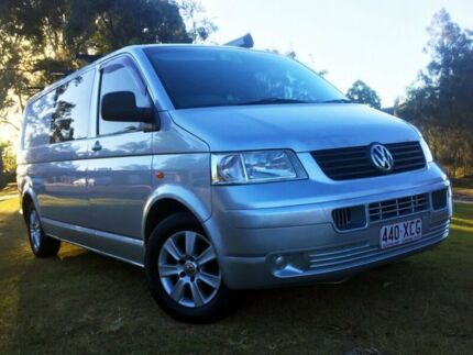 2004 Volkswagen Transporter T5 Low Roof Silver 6 Speed Sports Automatic Van