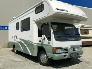 2003 Isuzu Alpine Isuzu Winnebago Green Motor Home 2WD Beckenham Gosnells Area Preview