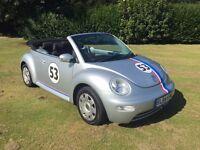 2004 Volkswagen Beetle Convertible TD Turbo diesel HERBIE style Full main dealer service history