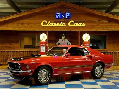 Mustang Mach 1 Super Cobra Jet 1969 Ford Mustang Mach 1 Super Cobra Jet – Candy Apple Red / Black