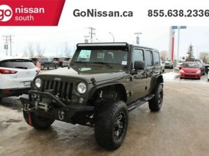 2015 Jeep Wrangler Unlimited SAHARA, UNLIMITED, LEATHER, NAVIGAT