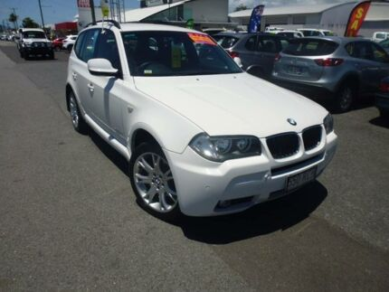 2010 BMW X3 E83 MY09 xDrive 20D Lifestyle Alpine White 6 Speed Steptronic Wagon Bungalow Cairns City Preview