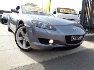 2004 Mazda RX-8 FE1031 Silver 6 Speed Manual Coupe Enfield Port Adelaide Area Preview