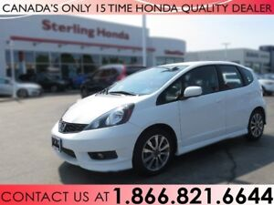 2014 Honda Fit SPORT | HONDA CERTIFIED | 1 OWNER | NO ACCIDENTS