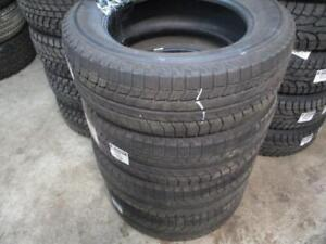 245/60 R17 WINTER TIRES MICHELIN X-ICE USED SNOW TIRES (SET OF 4) - APPROX. 90% TREAD