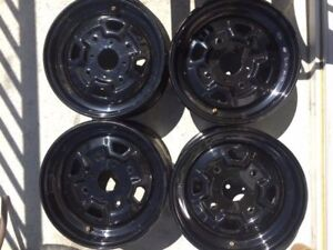 Can am Outlander stock steal rims 12""