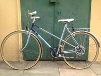Lovely Blue Vintage Raleigh Bicycle - Great Condition
