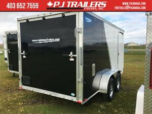 7'x14' Lightning Enclosed Trailer **SPRING CLEARANCE**