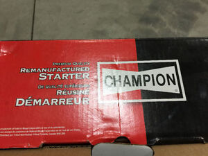 Brand new in the box champion car starter part!!