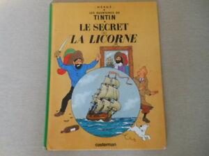 (((VINTAGE ))) Tintin  Le secret de la Licorne