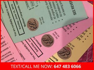 100% Genuine MAC / Estee Lauder warehouse sale tickets!