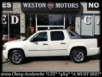 2009 Chevrolet Avalanche 1500 LTZ* 4X4* GPS* LEATHER* SUNROOF