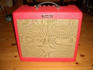AMPLI COMBO FENDER BLUES JR TEXAS RED LIMITED EDITION