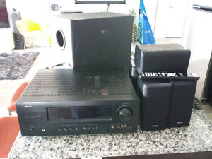 Denon DHT-1312XP 5.1 Home Theater - Receiver and Six Speakers