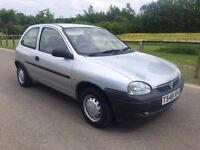 Vauxhall Corsa 1.2 Envoy low mileage 67,000 miles 12 months mot cheap small car