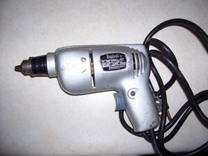 Corded Vintage Drill