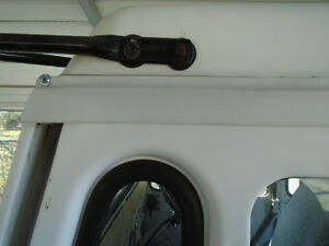POSTAL MAIL JEEP, DJ5, ROLLER COVER ABOVE DOOR REPLACEMENT