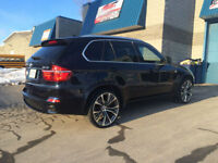 "MAG REPLIQUE BMW X5/X6 22"" 5X120 GUNMETAL/MACHINER"