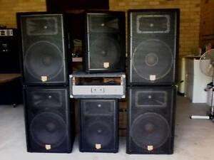 P.A. SYSTEM,JBL Double 2way,2 JBLmonitor,P/amp-stereo/2000watt Ballina Ballina Area Preview