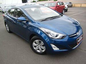 2014 Hyundai Elantra MD3 Active Blue 6 Speed Sports Automatic Sedan St Marys Mitcham Area Preview
