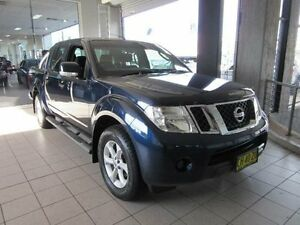 2014 Nissan Navara D40 MY12 Upgrade ST (4x2) Blue Velvet 5 Speed Automatic Dual Cab Pick-up Thornleigh Hornsby Area Preview