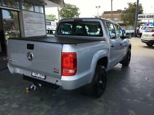 2013 Volkswagen Amarok 2H MY13 TDI420 Silver 8 Speed Automatic 4D UTILITY Hamilton Newcastle Area Preview