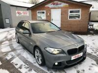 2014 BMW 5 SERIES 2.0 520D M SPORT TOURING 5D AUTO 181 BHP DIESEL