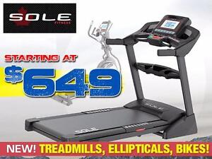SOLE Fitness Cardio Equipment: Treadmills, Ellipticals, Upright Bikes, Recumbent Bikes