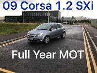 £1685 2009 Corsa SXi 1.2l* like fiesta punto yaris micra corsa c1 aygo 107 getz polo