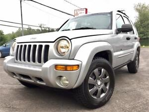**2003 JEEP LIBERTY LIMITED EDITION **4X4**AUTOMATIQUE**V6 3,7L