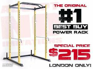 The Original #1 BEST BUY POWER RACK! Plus London Specials on Racks, Benches, Weights and sets