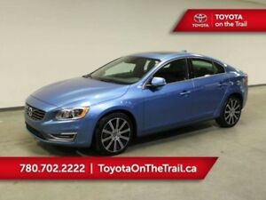 2015 Volvo S60 T6 PREMIUM PLUS 2 LEATHER SUNROOF NAVIGATION