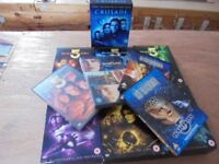 Babylon 5 Sci-Fi Complete set of DVDs plus movies & spin off series
