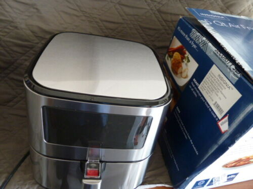 Insignia- 5-qt. Digital Air Fryer  Stainless Steel