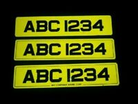 NUMBER PLATES MADE / FOR SALE ... METRO STYLE AND STANDARD ....
