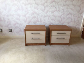 Two Stag Bedroom Cabinets
