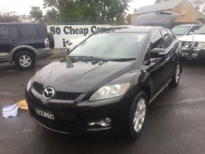 2007 Mazda CX-7 ER Luxury (4x4) Black 6 Speed Auto Activematic Wagon Campbelltown Campbelltown Area Preview
