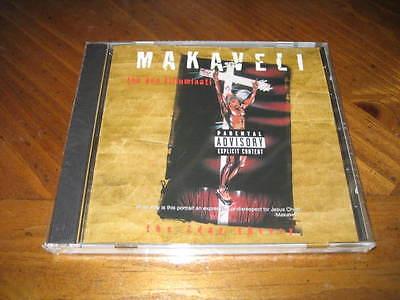 MAKAVELI - The Don Killuminati: The 7 Day Theory Rap CD 2PAC Tupac