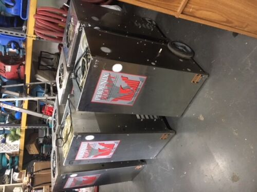 Phoenix 200 HT LGR Dehumidifier Total 6 Lot