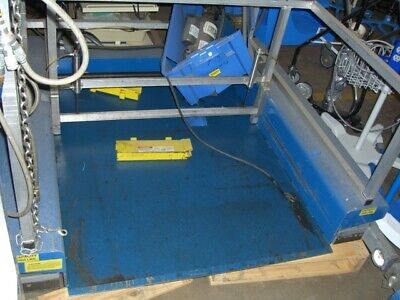 Reduced 5012 Offsouthworth Model Zls2-35 Hydraulic Lift Tablescissor Lift