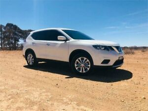 2016 Nissan X-Trail T32 ST White Constant Variable Wagon Broken Hill Central Broken Hill Area Preview