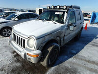 Jeep Liberty parts. Black Silver Blue 2002 2007