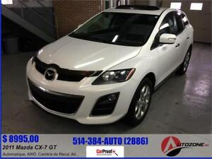 2011 Mazda CX-7 GT AWD/CUIR/TOIT/CAMERA DE RECULLONS/FULL LOAD