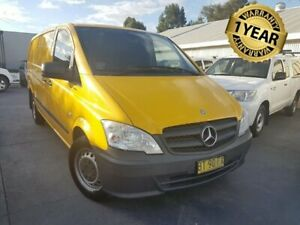 2012 Mercedes-Benz Vito MY13 113CDI LWB 6 Speed Manual Van Canley Vale Fairfield Area Preview