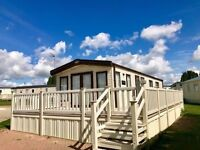 Luxury Link-Lodge for sale, prime location Overlooking The Seafront, 12 month season, Essex