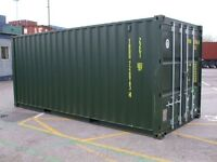 20 ft Storage Container to Rent £100 PCM