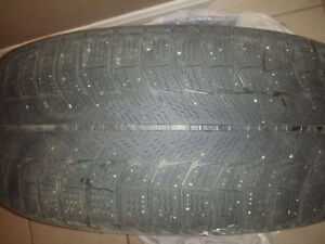 Winter Michelin 205/50R17 tires Kitchener / Waterloo Kitchener Area image 5