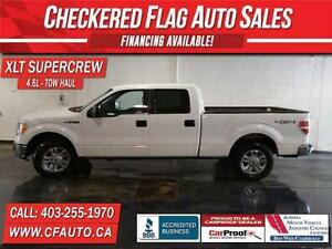 2009 Ford F-150 XLT SUPERCREW 4x4-4.6 LITRE-TOW HAUL-18 IN WHEEL