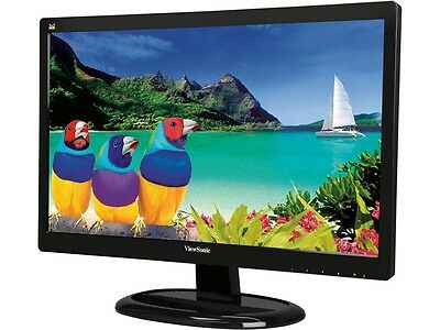 "شاشة ليد جديد ViewSonic VA2265SMH Black 22"" (21.5"" viewable) 6.5ms HDMI LED Backlight LCD Full"