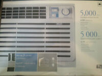 Everstar 5000 BTU Airconditioner window unit $80.Used one summer